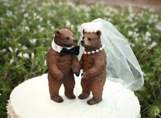 wedding grizzly couple