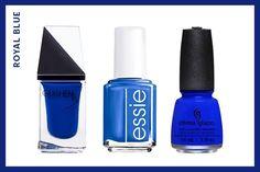 Spring Nail Trends - ROYAL BLUE | allure.com