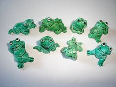 Kinder Surprise Set  Happy Frogs 1986  by KinderSurpriseToys
