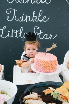 Jane's Twinkle Twinkle Little Star First Birthday Party