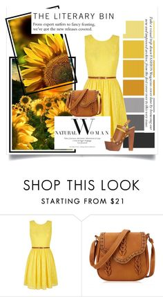 """""""Sunflowers"""" by romjoneisreal ❤ liked on Polyvore featuring Yumi"""
