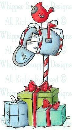 Holiday Mailbox - Fall/Winter 2013 - Rubber Stamps - Shop