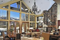 Gimlet Summit Estate in Sun Valley, Idaho  |  This one-of-a-kind private sanctuary is Sun Valley's most exclusive property and is ideal for the ski enthusiast and nature lover.