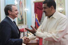 """Zapatero y Maduro protagonizan """"encerrona"""" en Miraflores tras congelamiento del diálogo - http://www.notiexpresscolor.com/2016/11/23/zapatero-y-maduro-protagonizan-encerrona-en-miraflores-tras-congelamiento-del-dialogo/"""