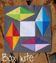 Box Kite #quilt block
