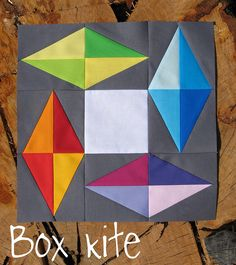 Box Kite #quilt block