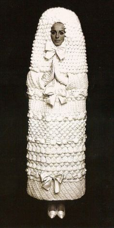 1960s wedding dress I'm pretty sure laddy gaga wants to wear this.lol #doves