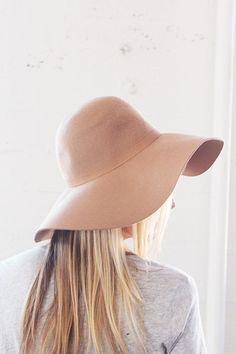 Floppy Wool Hat – BlushandBlue