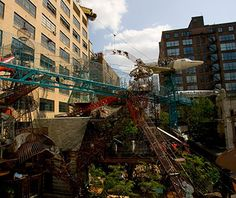 World's Coolest Playgrounds: MonstroCity, St. Louis made from reclaimed fire engine and plane