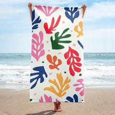 Fashion Round 3D Pattern Printed Beach Towel Pool Lawn Sunscreen Shawl