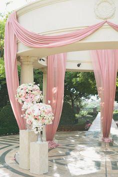 Photography: Onelove Photography - onelove-photo.com  Read More: http://www.stylemepretty.com/california-weddings/2014/03/31/romantic-pink-white-wedding-at-st-regis-monarch-beach/