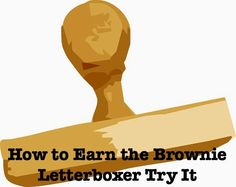 Meeting plans how to earn the Brownie Girl Scout Letterboxer badge. Has links to resources and craft ideas.