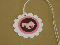 Cowgirl Favor Tags (12) by stampwab on Etsy https://www.etsy.com/listing/88480371/cowgirl-favor-tags-12