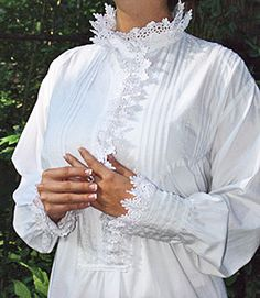 In Stitches, Victorian Nightgowns - Lady Arabella Nightgown