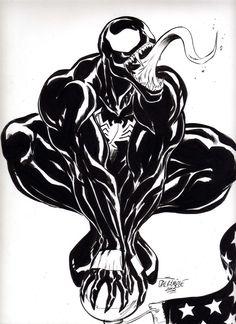 Venom - Marvel - by Scott Dalrymple