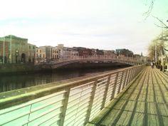 Dublin City boardwalk Dublin City, Travel Around, Travelling, Louvre, Building, Buildings, Construction