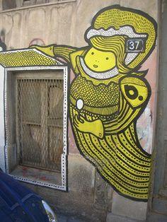 Street Art- Greece. love this.
