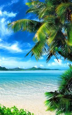 Tropical Beach Live Wallpaper- screenshot