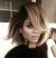 #Slayed love ciara's hair !