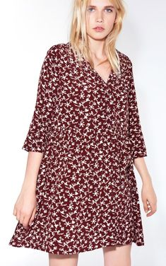 ROBE COCEA BORDEAUX // ba&sh Bash, Dresses With Sleeves, Collection, Long Sleeve, Winter, Outfits, Fashion, Clothing, Style