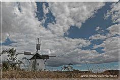 Die Windmühle in Retz - Eine der letzten zwei funktionstüchtigen Mühlen in Österreich. Hier wird heute wieder für das hauseigene Mühlenbrot gemahlen. Utility Pole, Fighter Jets, Aircraft, Tourism, Woodland Forest, Aviation, Planes, Airplane, Airplanes