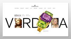 Our Design for the Verdura website