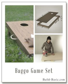 Build a DIY Baggo Game Set - Building Plans and Instructions by @Build Basic www.build-basic.com