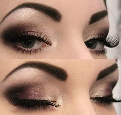 Love the strong eyebrow (the frame of your face).