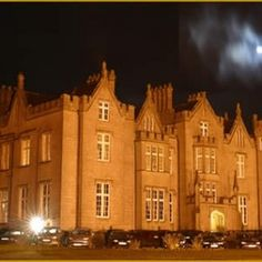 Kinnitty Castle, Ireland: The hotel is home to numerous ghosts. The most famous ghost at the castle is referred to as the Phantom Monk of Kinnitty, who is probably one of the most communicative ghosts there is – he has been known to communicate with staff members and visitors from time to time and often appears as a solid form. Some people mistake him as a real, living person, whilst others see him as a shadowy phantom.
