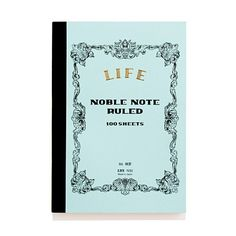 Life Stationery for Top Hat Small Notebook, Madewell