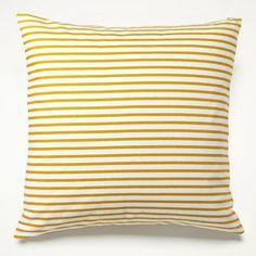 Sailor Mustard Pillow | Unison, $42