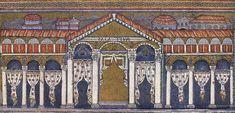 Basilica of San Apollinare Nuovo, Ravenna, palace of Theodoric, mosaic Abbasid Caliphate, Ravenna Mosaics, Early Middle Ages, Le Palais, Early Christian, Roman Empire, Byzantine, Egypt, Basel