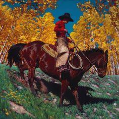 Enjoying These Wonderful Cowboy Paintings by Mark Maggiori.|FunPalStudio| Art, Artist, Artwork, Illustrations, Entertainment, beautiful, creativity, paintings, drawings, vibrant color, cowboys,nature.