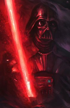 Vader by Alejandro Arévalo on ArtStation Anakin Vader, Darth Vader, Anakin Skywalker, Star Wars Painting, Audi, Vader Star Wars, Star Trek, Star Wars Images, Star Wars Wallpaper