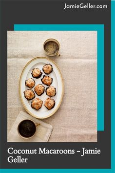 There is nothing like homemade macaroons to finish off a Seder meal. This version has 4-ingredients and takes 15 minutes to prep. #5ingredients #jewish #coconut Melt Chocolate For Dipping, Chocolate Dipped, Melting Chocolate, Seder Meal, Passover Desserts, Coconut Macaroons, Egg Whisk, Toasted Coconut, 4 Ingredients