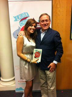 Con Laura Chica en la presentación de su libro. Mayo 2013