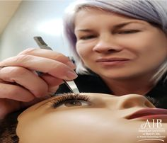 First comes Practice  Then comes clients Then comes lush beautiful lashes    Wouldn't you like to be Bella Lash certified? Come learn from the best. Only at the American Institute of Beauty. Click the link in our bio for more information. Barber School, Love Hair, Fun Learning, Updo, Lush, Journey, American, Inspiration, Beauty