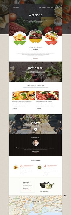 This responsive <b>cafe WordPress theme</b> can help you harness your website potential to the full. <em>Video integration</em> will let you convey your message in an easy-to-digest format and, the...