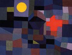 Paul Klee - Feuer bei Vollmond