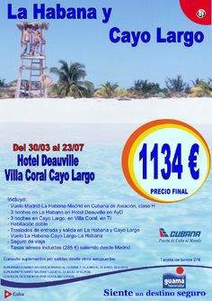 La Habana y Cayo Largo - http://zocotours.com/la-habana-y-cayo-largo-10/