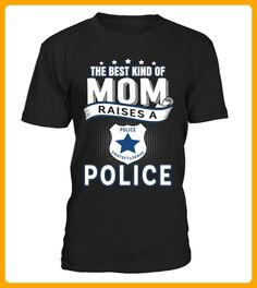 The best kind of mom raises a police - Shirts für onkel (*Partner-Link)