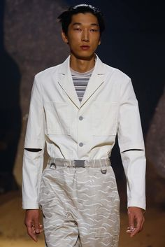See detail photos for Kenzo Spring 2016 Menswear collection.