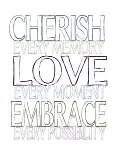 Cherish the Love #free #Printable