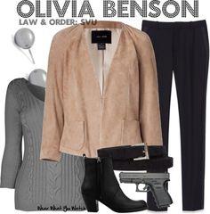 Inspired by Mariska Hargitay as Olivia Benson on Law & Order: SVU.