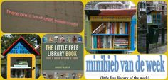 "Little free library Den Haag ""Minibieb van de week"" nummer 37 bij Jet's Minibieb."