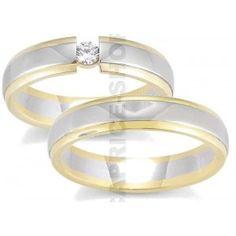 Gerstner wedding rings 28230, palladium and gold!