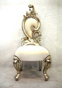 Renaissance short backed chair Renaissance, Golden Mirror, High Back Dining Chairs, White Carpet, Victorian Furniture, Wooden Flooring, Rococo, Earth Tones, Future