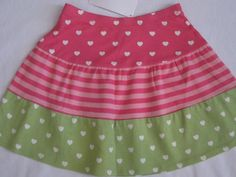 Gymboree Loveable Giraffe Skirt 3 4 5 New Hearts Stripes 3T 4T 5T Girls Nwt #Gymboree #Everyday