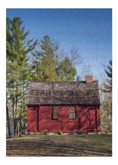 Hale House, Nathan Hale, Red Houses, American Revolutionary War, Colonial Architecture, Travel Images, Historic Homes, School Teacher, Connecticut