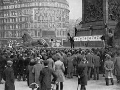 First British Union of Fascists rally, Trafalgar Square, London, 15 October, 1932